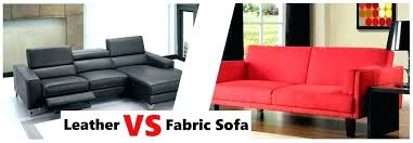 leather or fabric sofa vs furniture combination couches versus fabr sofa wood 4 3 leather fabric
