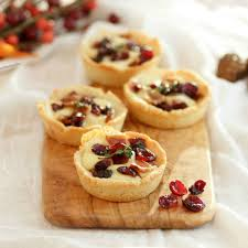 savory bacon cranberry cheese tartlets are a delightfully tasty appetizer that is gluten free low
