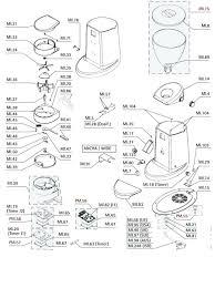 Coffee maker schematic diagram grinder