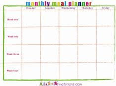meal planning chart meal planning how to get started meals meal planning chart