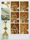 Плетения кашпо в макраме