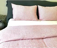 blue and white stripe bedding pinstripe red striped duvet cover grey comforter set king