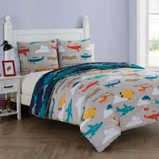 VCNY Toddler Bedding Sets from Buy Buy Baby & Toddler Bedding Sets > VCNY Home Glider 3-Piece Reversible Full Comforter  Set in Teal Adamdwight.com