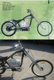raw 500w electric chopper bicycle bike motorized motor free
