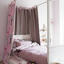 Hang Curtain Around Bed Decorate The House With Beautiful Curtains
