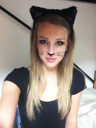 kitty cat costume cat makeup and cat ears