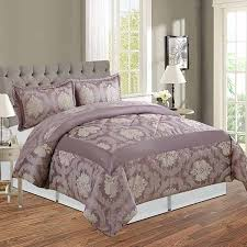 jacquard bedspread and two pillow cases
