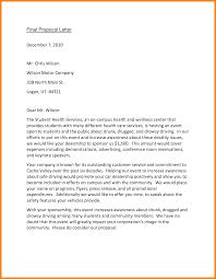 Proposal Letter Samples Event Proposal Letter Sample Latest Photograph Service Webtrucks 13