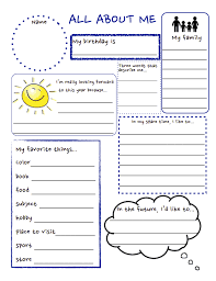 All About Me Worksheets Pdf All About Me Pdf School Worksheets Get To Know You
