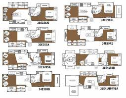 Small Picture Glendale Titanium fifth wheel floorplans small picture click