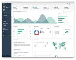 3 Templates 37 Best Free Dashboard Templates For Admins 2019 Colorlib