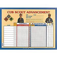 Tiger Advancement Chart Pin On Scouting