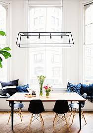 Modern Dining Room Pendant Lighting Concept