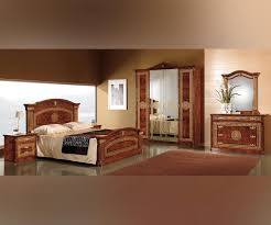 Italian Bedroom Set mcs alexandra alexandra walnut finish italian bedroom set with 4 6241 by guidejewelry.us