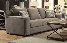 contemporary gray sofa couch with