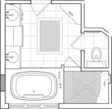 Large Master Bathroom Floor Plans Collection