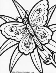 Pictures Of Flowers Coloring Pages At Getdrawingscom Free For