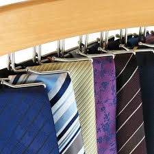 closet tie racks diy tie rack bow tie storage box