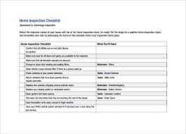 free home inspection checklist 14 home inspection checklists free sample example format