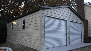 Free garage building plans detached wholesale Carports 4 24x26x9 Vertical Style Roof Wholesale Direct Carports Enclosed Garage Customization Options Wholesale Direct Carports