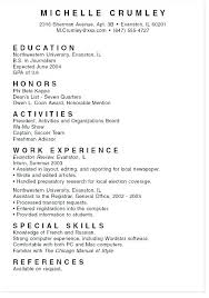 College Resume Tips Objectives For College Resumes Arzamas