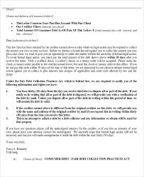 Attorney Debt Collection Letter