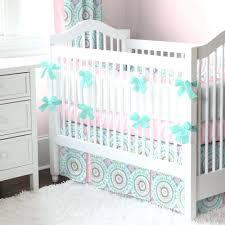 baby girl crib bedding sets pink and gold nursery decor elephants