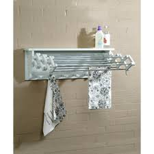 lovely lush mount clothes drying rack wall mount drying rack for laundry room home decor interior