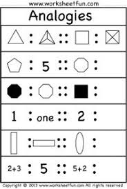 Puzzles  thinking  word problems by Math Crush English Language Arts  Gifted and Talented  Critical Thinking Homeschool  Worksheets  Printables Here are two great worksheets for practicing  analogies