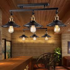 Industrial loft lighting Retro Image Is Loading 30034kitchenislandlightingindustrialloftbig Ebay 30
