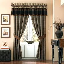 living room curtains with valance. Lace Valances For Living Room Burgundy Swag Curtains . With Valance