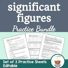 sig figs google sheets significant figures teaching resources teachers pay teachers