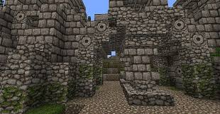 Ancient Stone Gate Minecraft Project