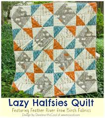 Lap Quilt Patterns Gorgeous Lap Quilt Pattern Sneak Peek The Lazy Halfsies Quilt Sew McCool