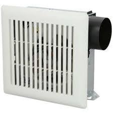 50 cfm wall ceiling mount bathroom exhaust fan