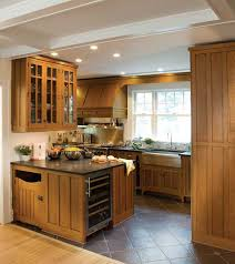 Wonderful The Featured Crown Point Kitchen, With Cabinetry In Quartersawn Oak, Makes  Great Use Of Great Ideas