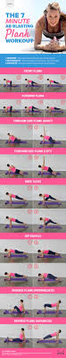 the 7 minute ab blasting plank workout infog2
