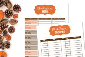 New Printable Holiday Planner I Heart Planners