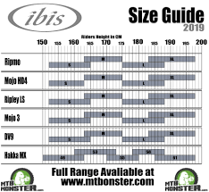 Ibis Bikes Size Guide What Size Frame Do I Need