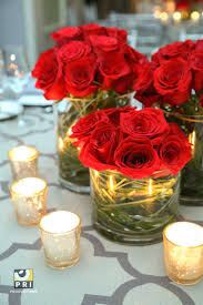 ... Red And White Flower Arrangements Best Red Rose Centerpieces Ideas On  Red Wedding Decorating Red White ...
