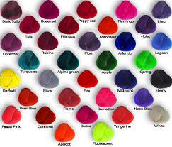 Pravana Hair Color Vs Manic Panic Hair Color 2016 2017