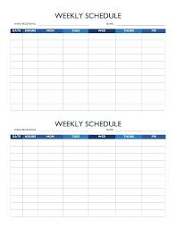 Online Shift Schedule Maker Schedule Maker Template After School Schedule Template Printable