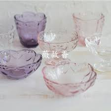 vintage embossed glass petals cups ice cream cup cups milk glass dessert bowls of sauce dishes