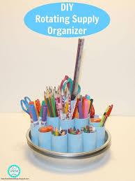 diy office organization 1 diy home office. Diy Rotating Supply Organizer, Craft Rooms, Crafts, Home Office, How To, Office Organization 1 F