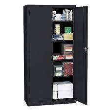 cabinet. Exellent Cabinet Realspace 72 Steel Storage Cabinet With For