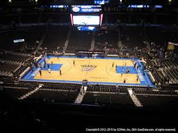 Chesapeake Energy Arena View From Upper Level 308 Vivid Seats