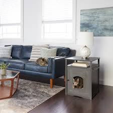 furniture to hide litter box. Merry Products Furniture Hidden Cat Litter Box Enclosure - Free Shipping Today Overstock 13110966 To Hide N