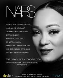 please join us august 24 11am 6pm as we wele celebrity makeup artist saffire cherry who will showcase tips and techniques of today s hottest industry