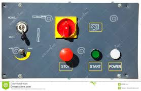 Machine Control Panel Design Machine Control Panel With Buttons Stock Photo Image Of