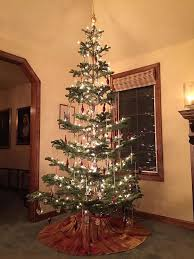 Old Fashioned Tree Lights Old Fashioned Christmas Tree 1940s Style Old Fashion